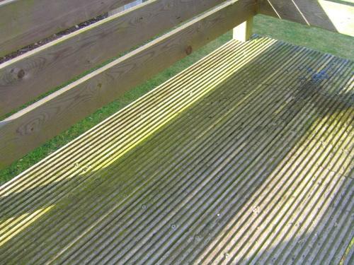 lame de terrasse mousse